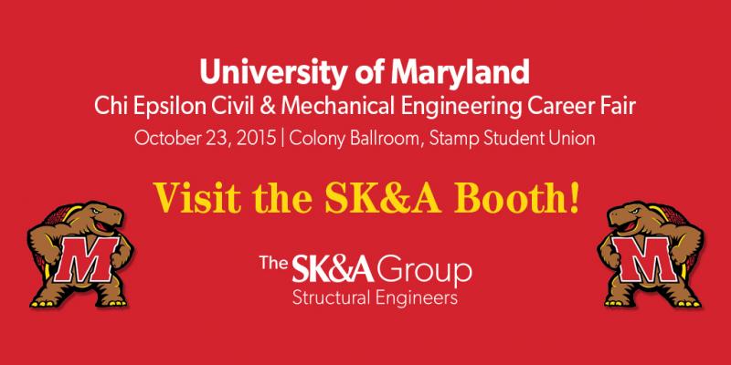 UMD's Chi Epsilon Civil & Mechanical Engineering Career Fair