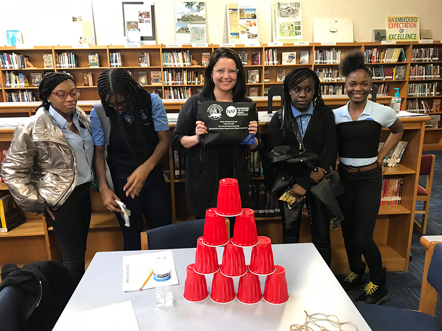 Monika Crandall - CREW Careers Session at Phelps ACE HS