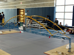 WVU Tech's completed bridge.