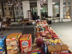 Gingerbread and other candy supplies were supplied by the event.
