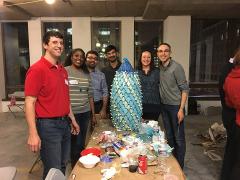 The inaugural SK&A Gingertown Team: David Blanco, Charmaine Josiah, David Pirnia, Ammar Motorwala, Kellie Farster and Sikandar Porter-Gill.