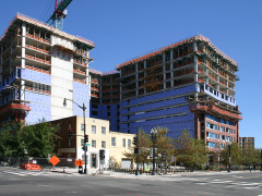 View of Plaza West at 4th and K Streets, NW