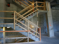 Image of a staircase under construction.