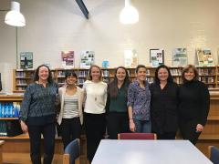Kellie Farster, Monika Crandall, Marcia Camarda - CREW Careers Session at Phelps ACE HS