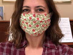 Janice Tipton - Sewed PPE Face Masks for SK&A Staff