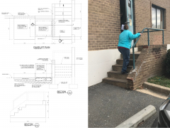 Tony Sadr - Rebuilding Together Bruno Wheelchair Lift Design
