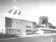 The city of Rockville, MD's City Hall building (circa 1961).