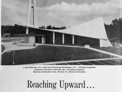 Advertisement by Solite, the company that manufactured the lightweight concrete used of the Q&A Church.