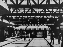 Shopping Center interior, Reston, VA (circa 1970)