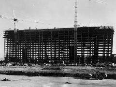 Skyline House II under construction, Falls Church, VA (1978)